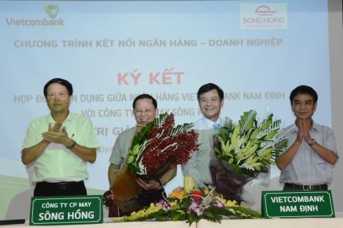Vietcombank Nam Định tài trợ vốn cho nhiều doanh nghiệp