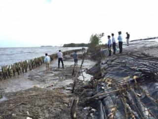 Chi 60 tỷ đồng xây khẩn cấp bờ kè đê biển