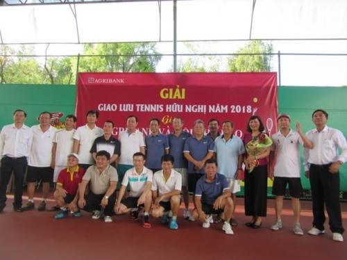 Khai mạc Giải giao lưu Tennis giữa Agribank và Hội Nhà báo