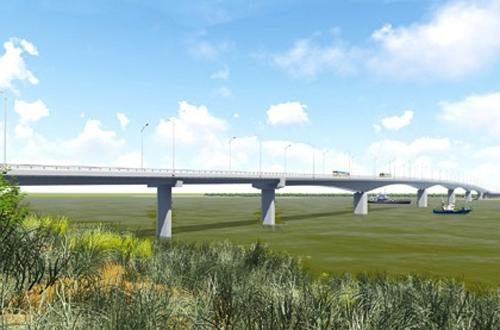 Đầu tư hơn 1.000 tỷ đồng xây cầu nối Nghệ An - Hà Tĩnh