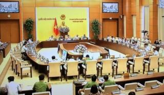Khai mạc phiên họp 26 của Ủy ban Thường vụ Quốc hội