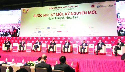 M&A thu hút dòng vốn ngoại