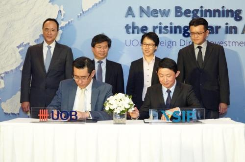 UOB Việt Nam hợp tác với VSIP kêu gọi vốn FDI vào Việt Nam