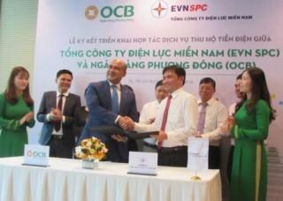 OCB và EVN SPC ký kết hợp tác thu hộ tiền điện
