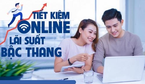VietABank ra mắt sản phẩm tiết kiệm bậc thang online