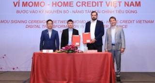 Home Credit hợp tác chiến lược với MoMo