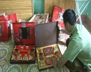 Mập mờ chất lượng bánh trung thu nhập lậu