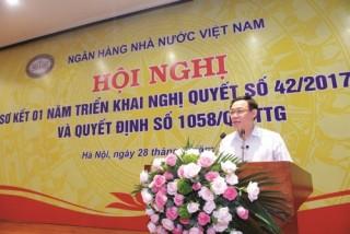 Phó Thủ tướng Vương Đình Huệ: Không đánh mất đà cơ cấu lại các TCTD và xử lý nợ xấu