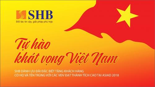 SHB đồng hành cùng thể thao Việt Nam