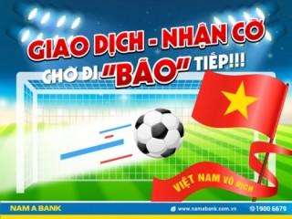 Nam A Bank tiếp lửa Olympic Việt Nam tại Asiad 2018 bằng quà tặng