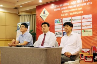11 thương hiệu thực phẩm hàng đầu Hàn Quốc đến Hà Nội