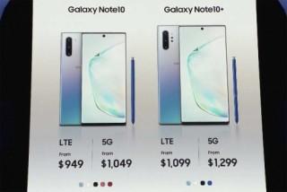 Samsung Galaxy Note10 chính thức: 6,3' và 6,8' - cải tiến bút S Pen, camera, có bản 5G, giá từ $949