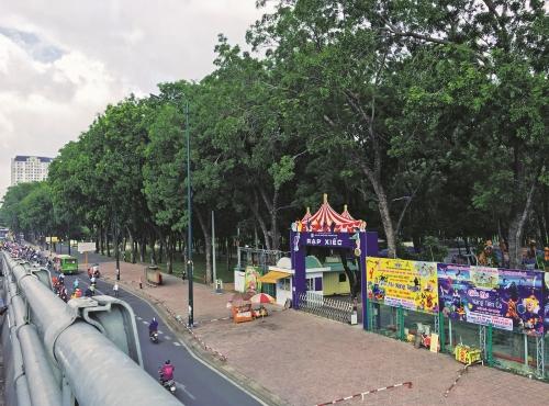 TP.HCM thiếu công viên cây xanh trầm trọng