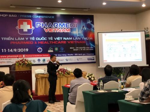 Triển lãm Pharmed & Healthcare Việt Nam 2019: Sẽ giới thiệu các thiết bị y tế hiện đại nhất