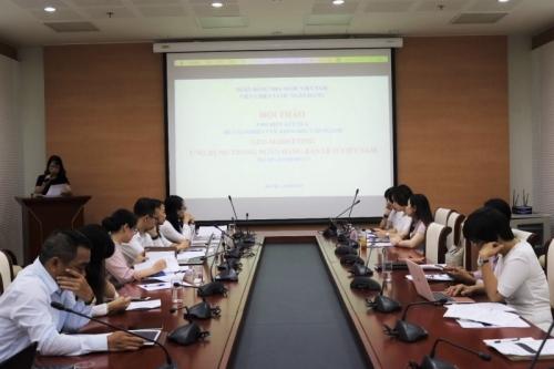 """Hội thảo khoa học giới thiệu đề tài """"Geo – Marketing ứng dụng trong ngân hàng bán lẻ ở Việt Nam"""""""