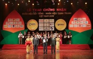 """Dai-ichi Việt Nam đạt """"Top 20 Nhãn hiệu nổi tiếng Việt Nam 2019"""""""