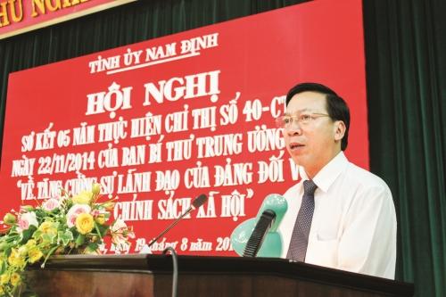 Thực hiện Chỉ thị số 40-CT/TW ở Nam Định: Nhân lên những giá trị của tín dụng nhân văn