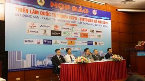 Hơn 450 doanh nghiệp tham dự VIETBUILD 2019 lần thứ hai tại Hà Nội