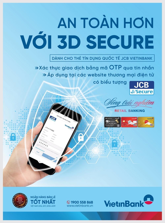 vietinbank trien khai tinh nang bao mat 3d secure cho the tin dung quoc te jcb