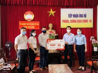 Central Retail tặng khẩu trang y tế và nước sát khuẩn cho Đà Nẵng