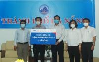 Các ngân hàng trao 21 tỷ đồng hỗ trợ Đà Nẵng chống dịch Covid-19