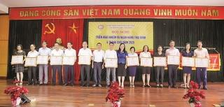 Ngành Ngân hàng Thái Bình: Thi đua tạo nên sức mạnh để hoàn thành nhiệm vụ