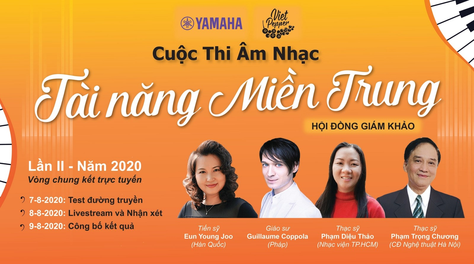 lan dau tien thi piano qua hinh thuc livestream