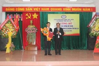 Công bố quyết định bổ nhiệm Phó Giám đốc NHNN Chi nhánh tỉnh Gia Lai