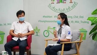 Trẻ em ngày càng quan tâm đến bảo vệ môi trường