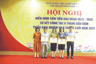 NHNN Chi nhánh tỉnh Nghệ An: Lan tỏa sâu rộng các phong trào thi đua yêu nước