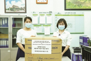 Công đoàn Ngân hàng Việt Nam: Đẩy mạnh phòng chống dịch Covid-19 trong tình hình mới