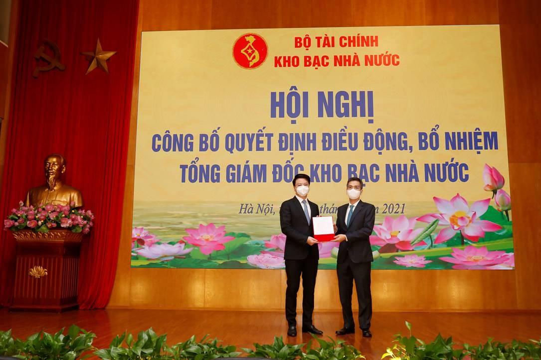 chanh van phong bo tai chinh duoc bo nhiem tong giam doc kho bac nha nuoc