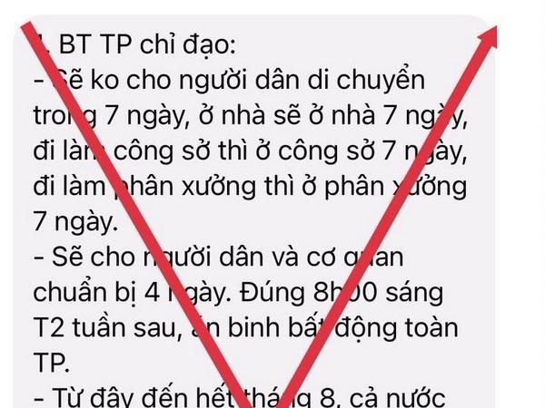 tphcm thong tin khong cho nguoi dan di chuyen trong 7 ngay la gia