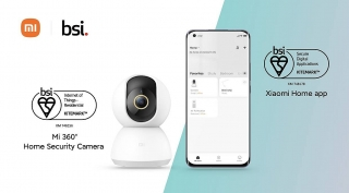 Camera an ninh Mi 360° Home Security Camera và ứng dụng Xiaomi Home đạt Chứng nhận BSI Kitemark™