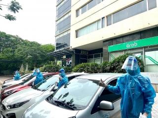 Grab hỗ trợ công tác phòng chống dịch COVID-19 tại Hà Nội