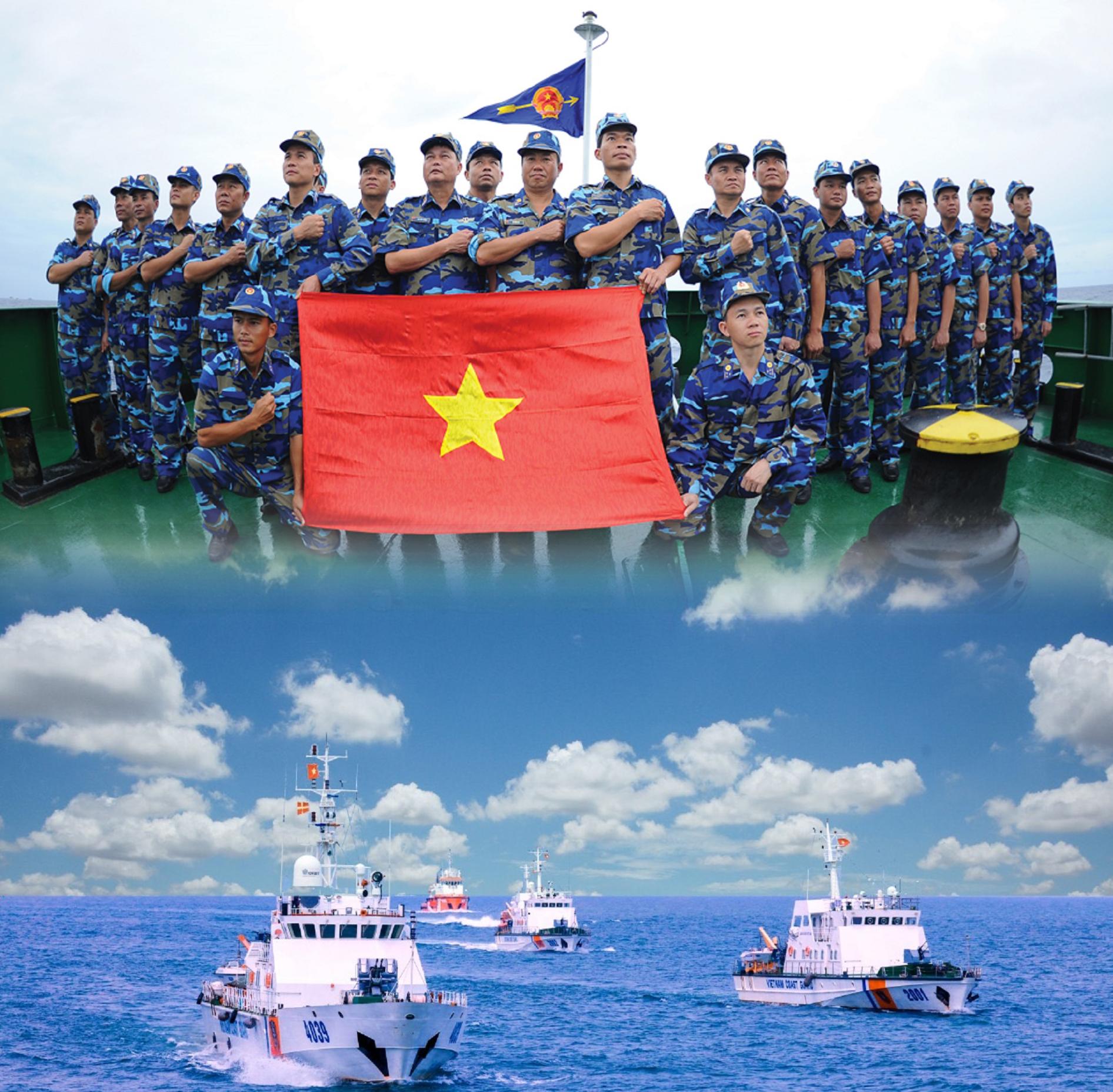 Thi trực tuyến toàn quốc 'Tìm hiểu Luật Cảnh sát biển Việt Nam'