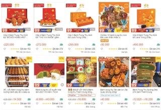 Thị trường bánh Trung thu: Kênh online chiếm thế thượng phong