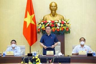 Chủ tịch Quốc hội nghe báo cáo việc chuẩn bị giám sát trong năm 2022