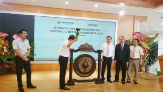 Dệt may G.Home chính thức niêm yết trên sàn Hà Nội