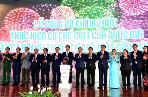 Chính thức thực hiện Cơ chế một cửa quốc gia và kết nối Cơ chế một cửa ASEAN