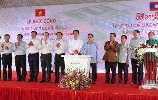 BIDV tài trợ 161 triệu USD cho dự án muối mỏ Kali tại Lào