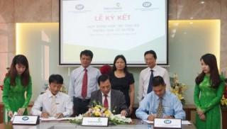 Vietcombank Sóng Thần ký kết Hợp đồng hợp tác thu hộ với Quỹ CEP