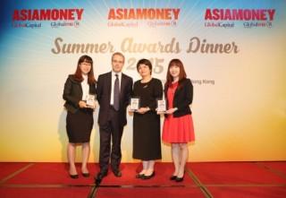 Dịch vụ ngoại hối của BIDV tiếp tục được Asiamoney vinh danh