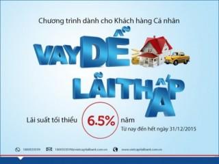 Thêm nhiều ưu đãi cho khách hàng vay vốn từ Viet Capital Bank
