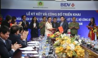 BIDV và Bộ Công an ký kết thỏa thuận hợp tác