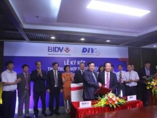 BIDV và DIV hợp tác toàn diện