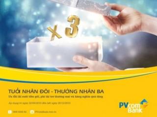 PVcomBank ưu đãi khách hàng nhân sinh nhật