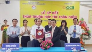 OCB hợp tác với Trường CĐ Kinh tế Kế hoạch Đà Nẵng