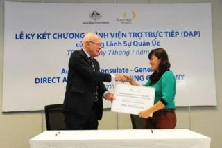 Chính phủ Úc khởi động chương trình viện trợ trực tiếp 2016 - 2017