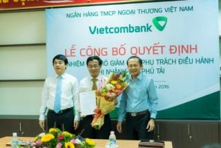 Vietcombank kiện toàn nhân sự Ban giám đốc các CN khu vực miền Trung và Tây Nguyên